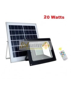 Kit Full Iluminación Solar Reflector Led 20w