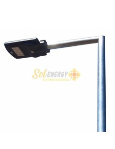 Luminaria Energia Solar 60w Litio Full 4,2 mts