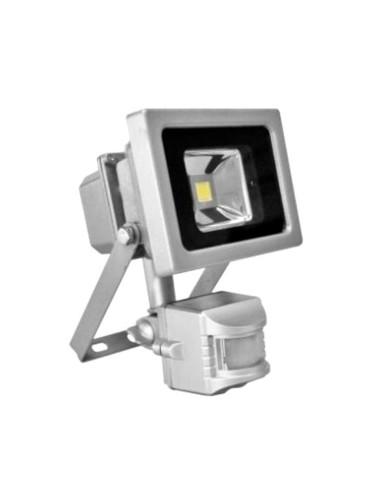Foco Led 10w con Sensor de Movimiento
