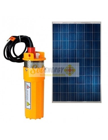 Kit Full Bomba Pozo Profundo con Panel Solar 250w
