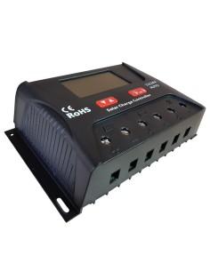 Regulador de Carga Solar 30ah 12/24v