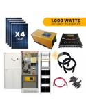 Kit Full Solar 1.000w Plug and Play Off Grid