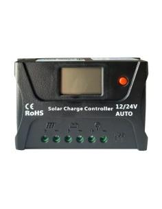 Regulador de Carga Solar 20ah 12/24v