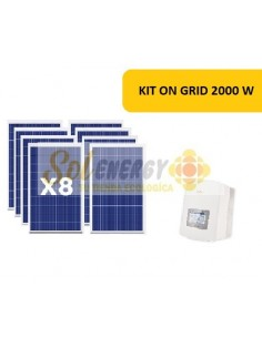 KIT ON GRID 2000W
