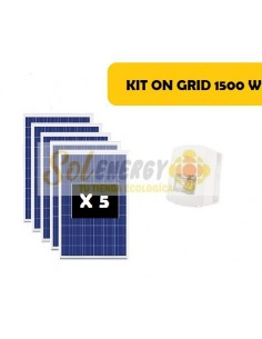 KIT ON GRID 1500W