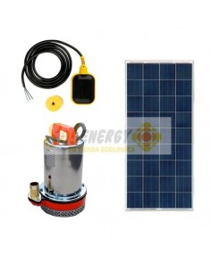Kit Full Bomba Sumergible con Panel Solar 150w