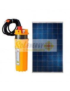 Kit Full Bomba Pozo Profundo con Panel Solar 200w