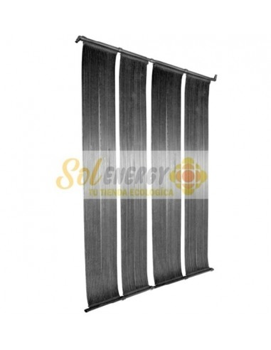 Panel Solar Flexible Temperado de Piscina Caucho EPDM