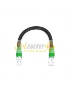 Cable Bateria Negro 20cms