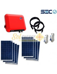 Kit Full On Grid Energia Solar SMA 2.5 Sunny Boy