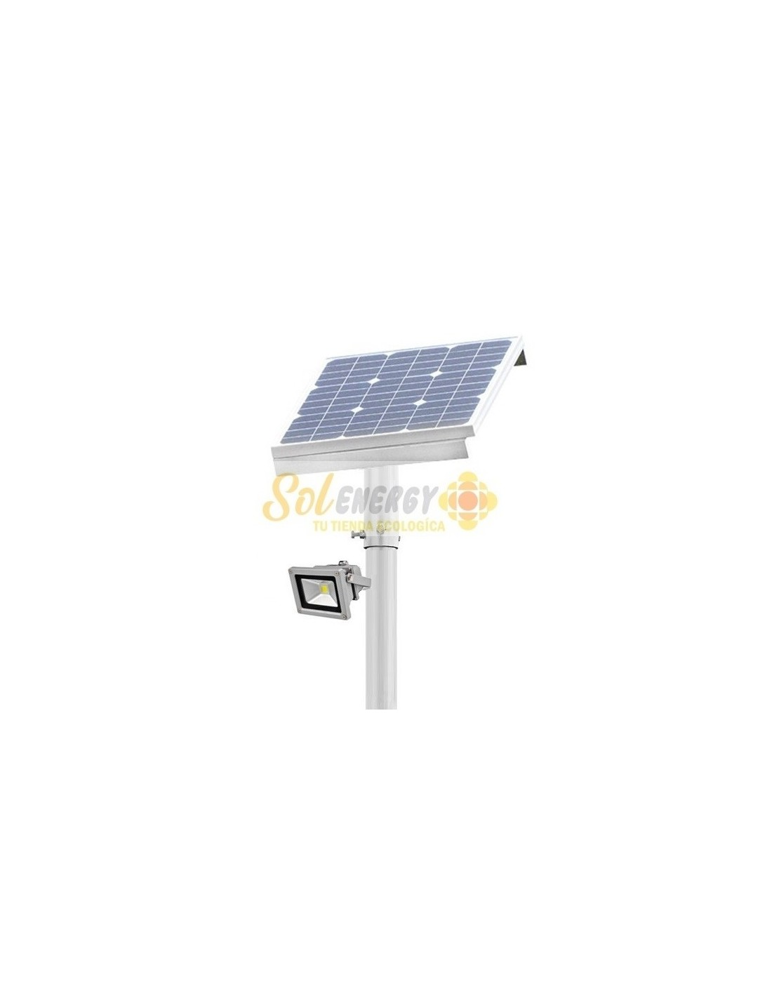 Luminaria Solar Reflector 50w Full 6 Mts