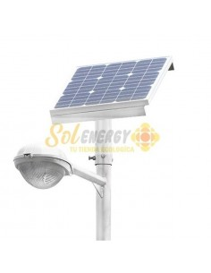 Luminaria Solar Integrada Full 50w 6 mts