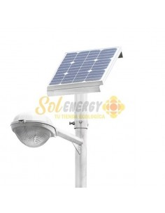 Luminaria Solar Integrada Full 20w 6 mts