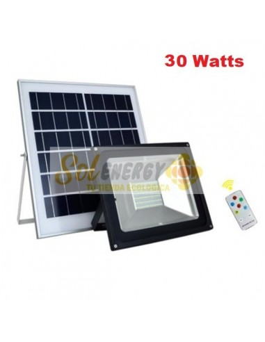 Kit Full Iluminación Solar Reflector Led 30w