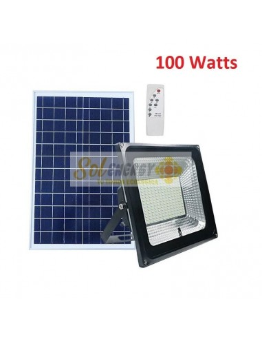 Kit Full Iluminación Solar Reflector Led 100w